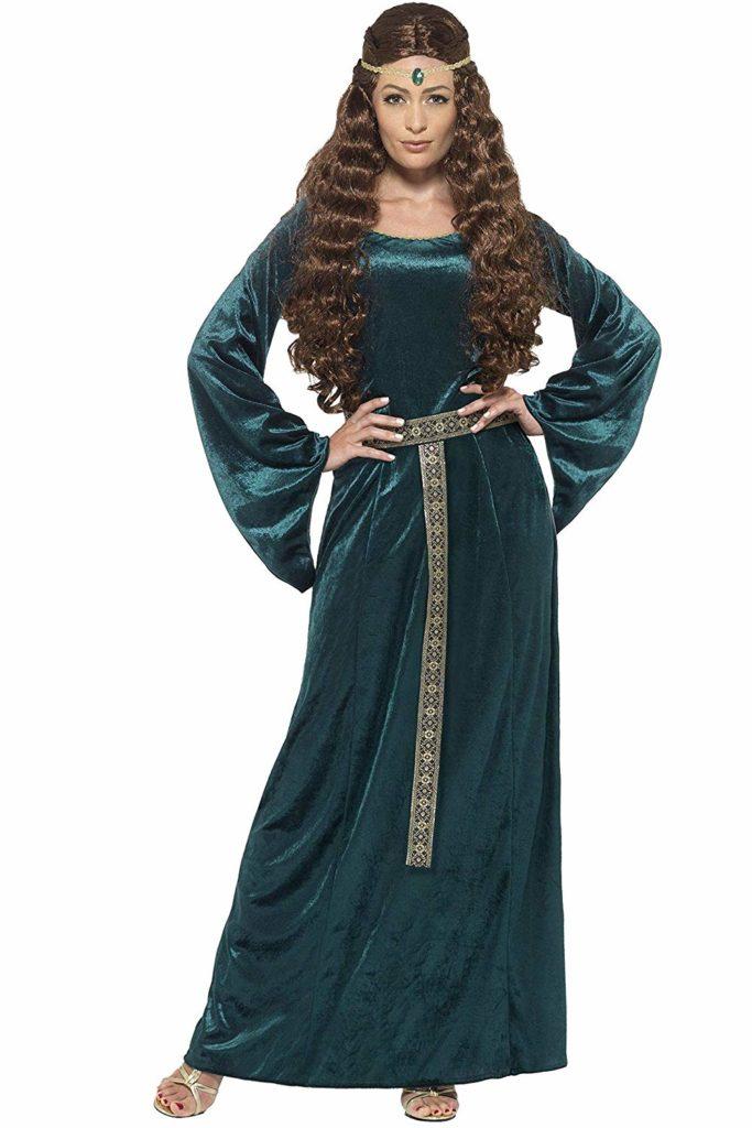 Traje medieval mujer 1