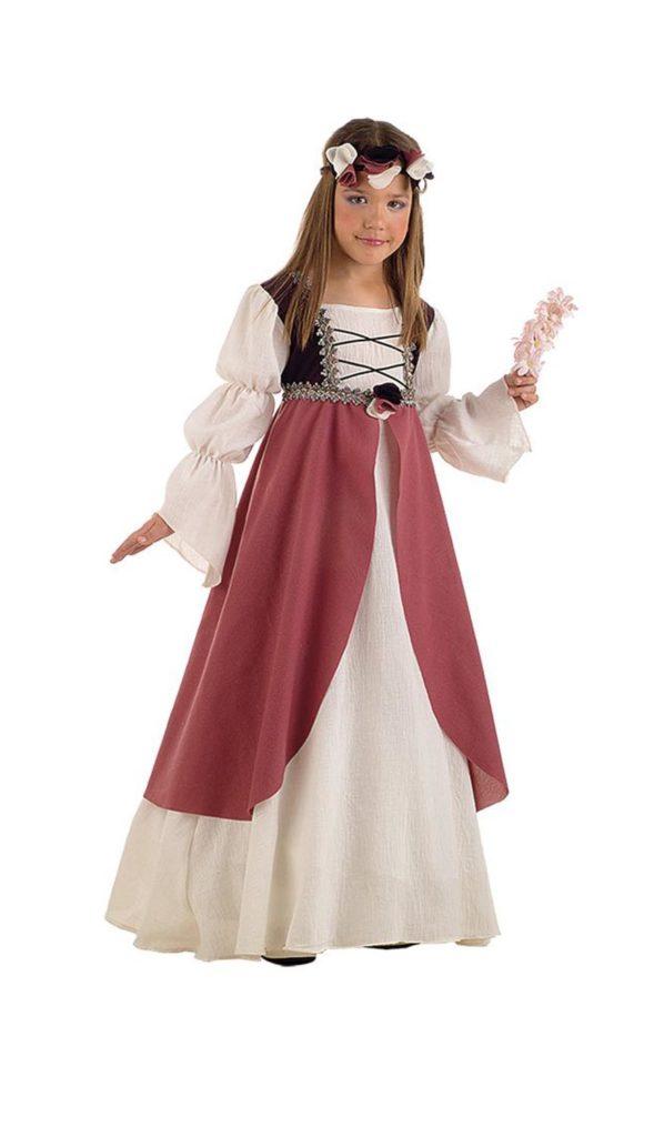 Doncella medieval niña