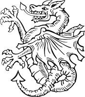 Escudo de armas Dragón