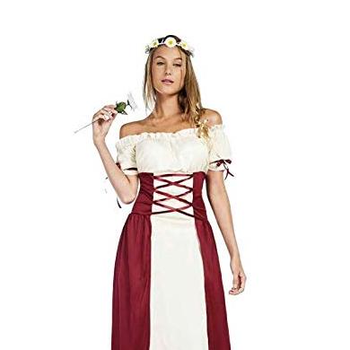 Traje medieval mujer campesina