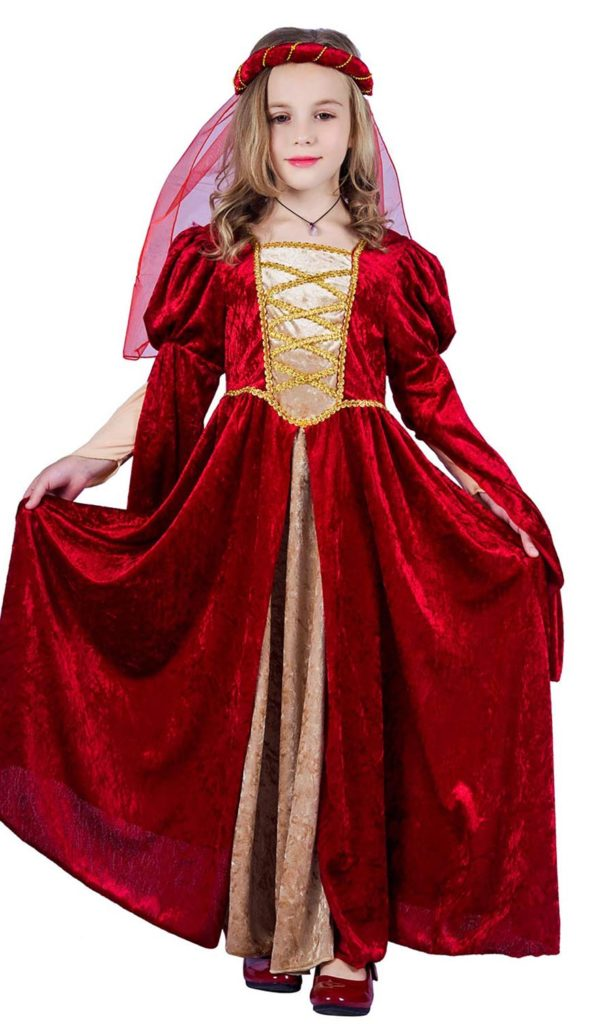 Vestido de Princesa de Niña