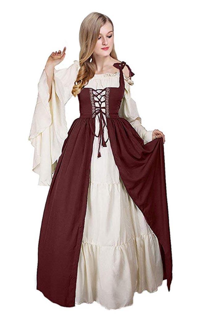 Traje Medieval campesina Mujer 4