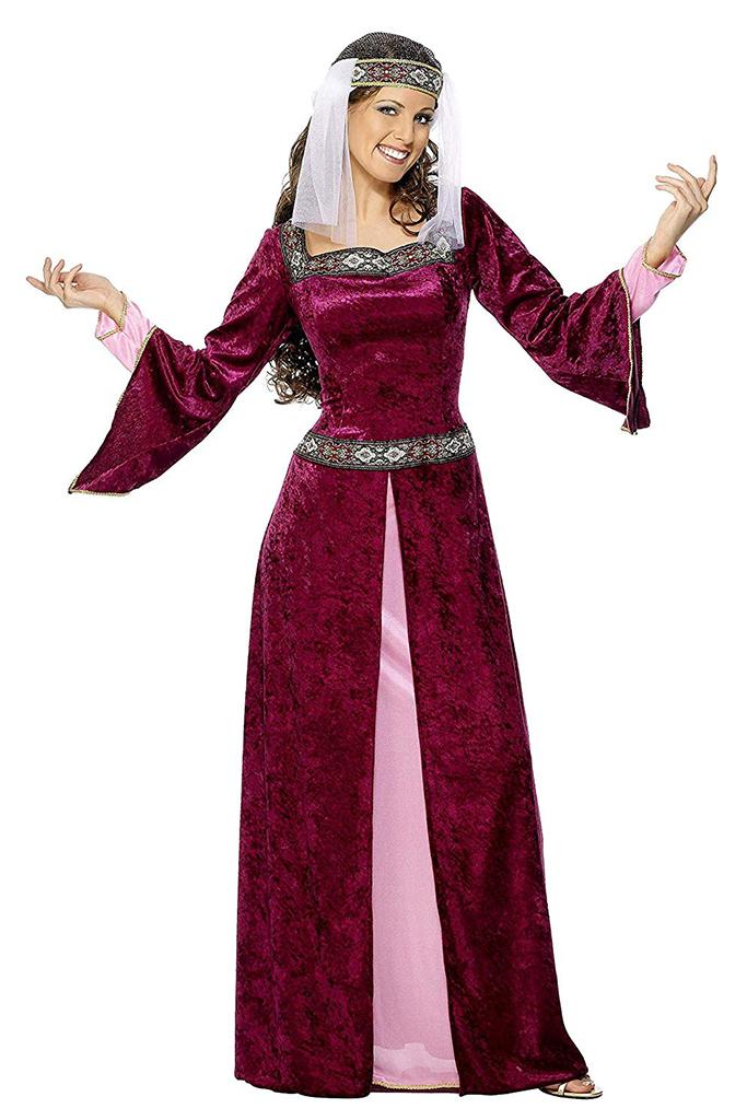 Traje medieval mujer 3