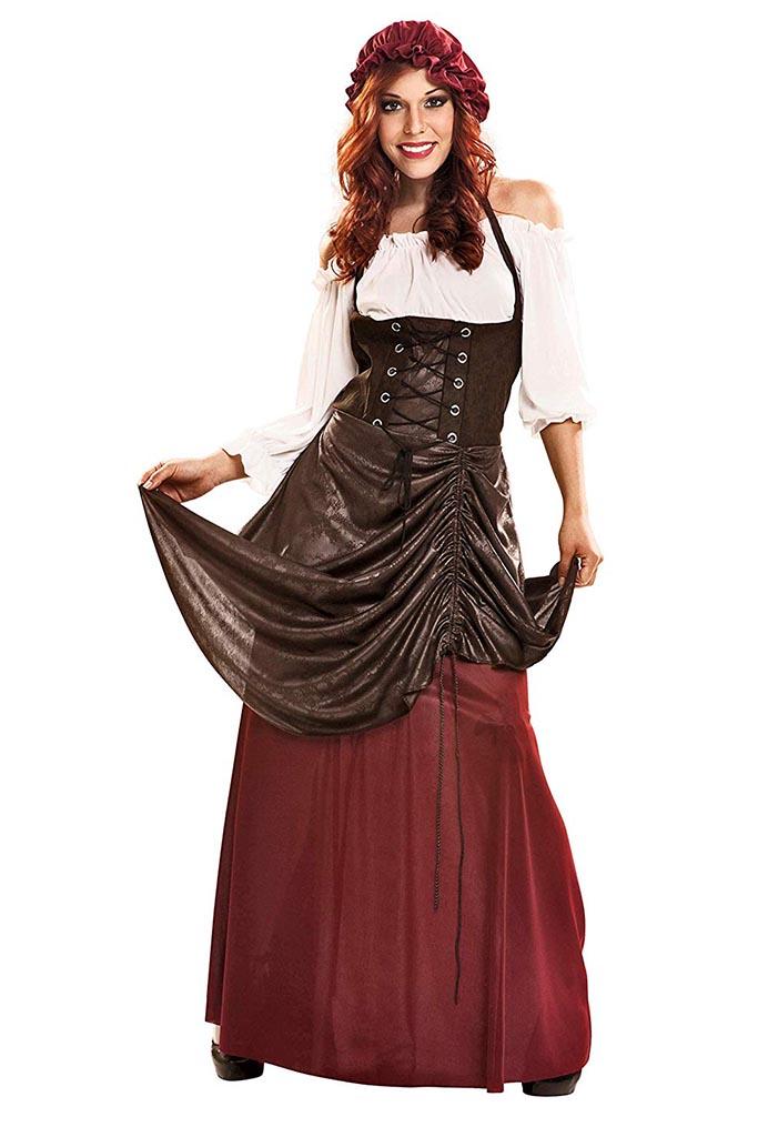 Traje medieval mujer 4
