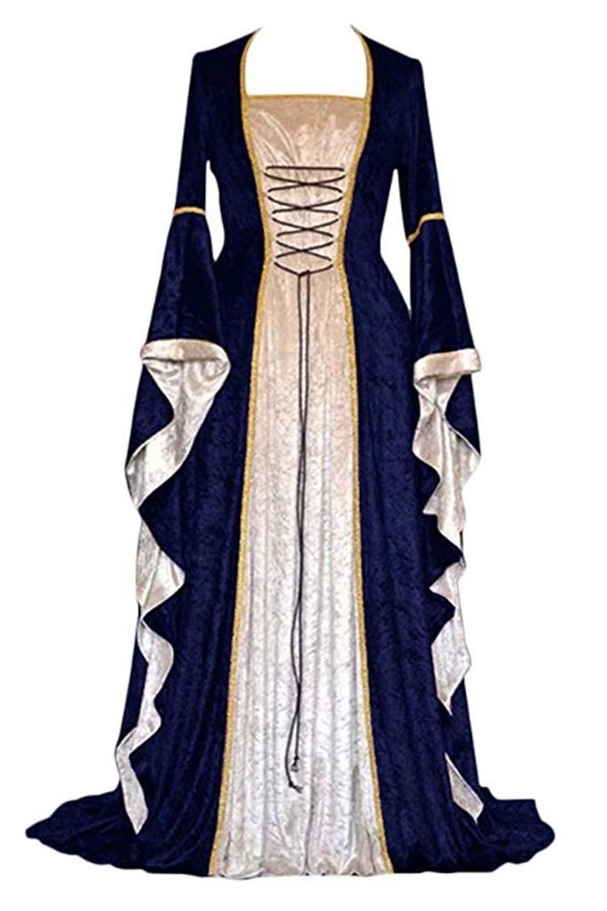 Traje medieval mujer 6