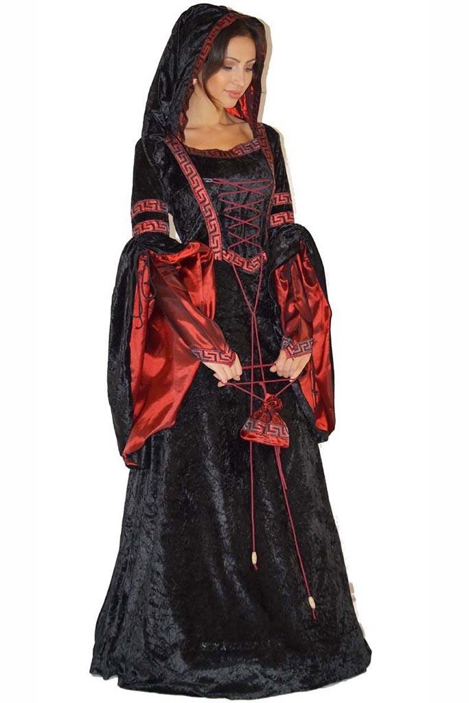 Traje medieval mujer 9