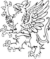 Grifo en escudo de armas