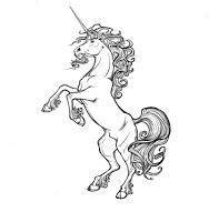Unicornio en los escudos de armas