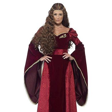 Vestido de reina medieval